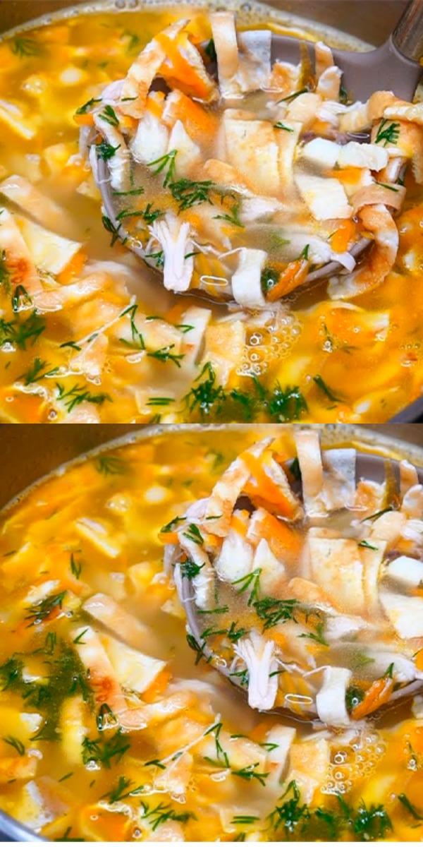 Новый суп, который я открыла для себя совсем недавно. Безумно вкусно!