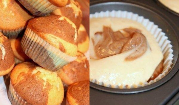 Шоколадно-лимонные кексы